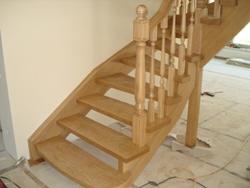 Дубовая лестница K2 - Лестницы