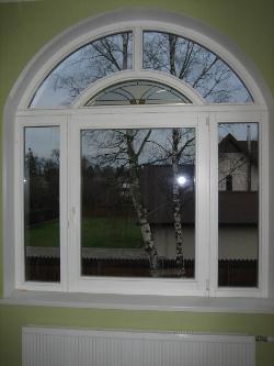 Деревянные окна со стеклопакетом, производство окон