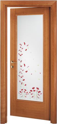 Дверь со стеклом D5 - Двери деревянные