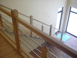 K11 деревянная лестница - Лестницы