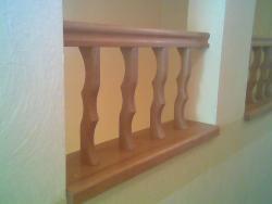K3 деревянная лестница - Лестницы