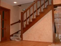 K8 деревянная лестница - Лестницы