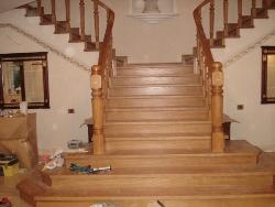 K5 деревянная лестница - Лестницы
