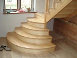 K10 деревянная лестница - Лестницы
