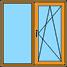 Окно в комнате и кухне