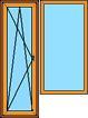 Balkonu bloks hallē